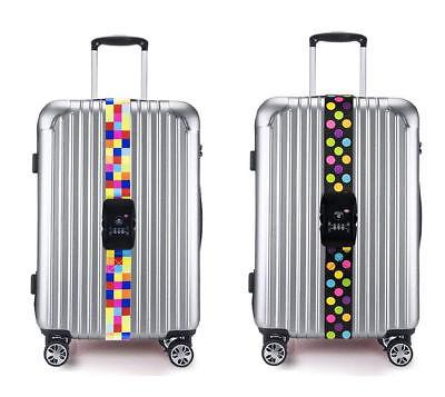 Gepäckgurte TSA-Eingenschaft Mater Kofferband Koffergurt mit Zahlenschloss Neu (Tsa Gepäckgurt)