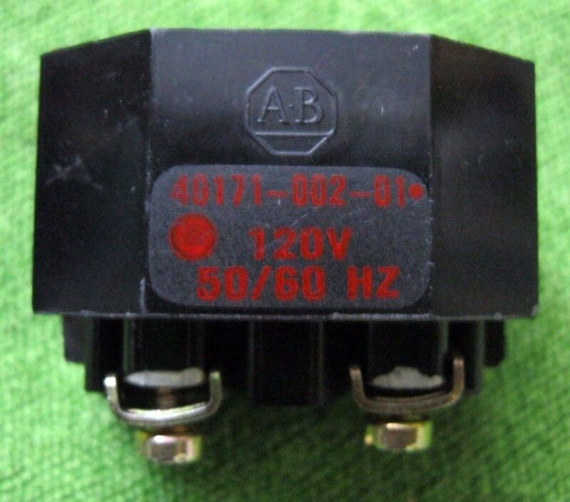 ALLEN BRADLEY 40171-002-01 TRANSFORMER MODULE FOR PILOT LIGHT 120VAC 50/60HZ