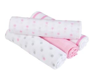 Aden and Anais Swaddle Blankets 4 pack