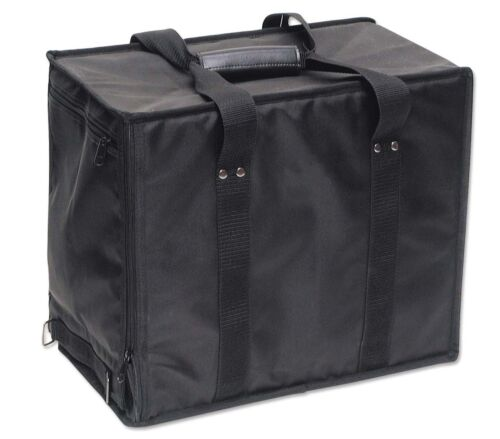 Jewelry Storage Case Travel Salesman Display Carrying Showcase Nylon