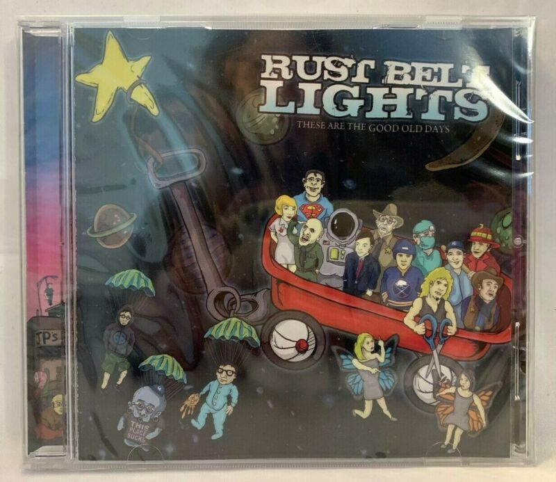 Rust Belt Lights ‎– These Are The Good Old Days CD NEW 2010