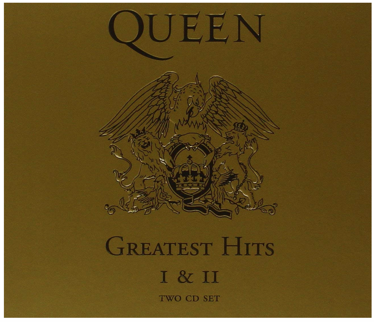 Queen - Greatest Hits: I & II Collection (CD) NEW • Best of, Bohemian Rhapsody