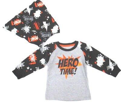 ddler Superhero Cape Long Sleeve Shirt Size 12M-24M-3T-4T 5T (4t Jungen Halloween-kostüme)