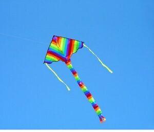 kite Childrens kids Easy to Fly Single Line kite 1.2mtr Colourful  Design