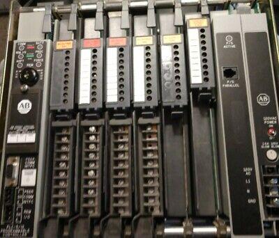 Allen Bradley Plc 5 Full 8 Slot Rack