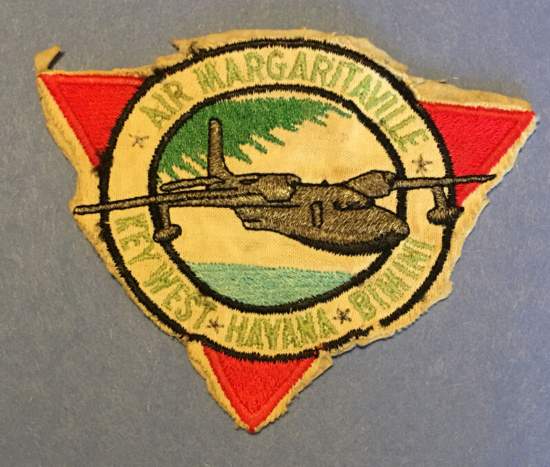 VIntage Air Margaritaville, Jimmy Buffett patch