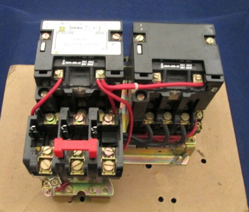 Square D 8736SCO8S 8736 Motor Starter Contactor