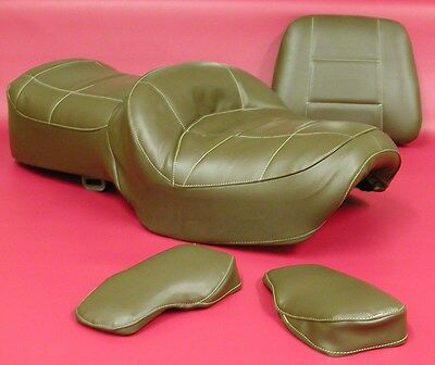 Honda Gl1200 Seat Cover Goldwing Chocolate Brown & (armrests) Or 25 Colors