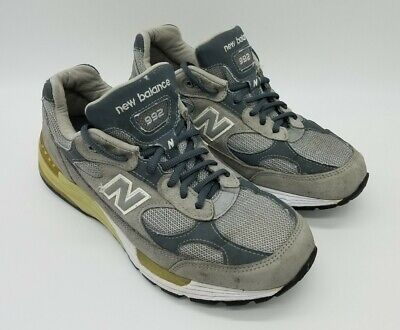 New Balance 992 Made in USA Men's Shoes M992GL Gray Sz 9 2E (Extra Wide) *Rare*