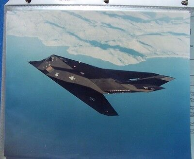 F-117  8 x 10 photo