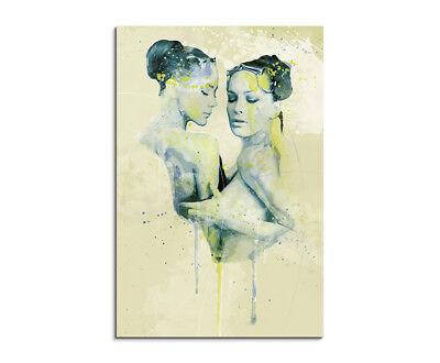 Nikita Aqua 90x60cm Wandbild Aquarell Art