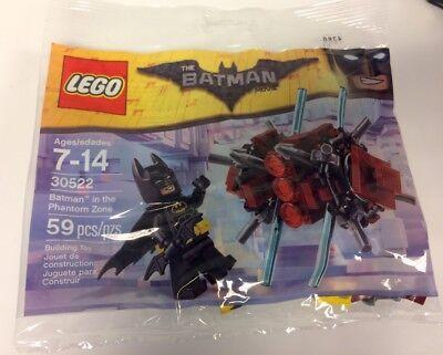Lego Batman Movie   Batman In The Phantom Zone Minifigure Polybag 30522 New