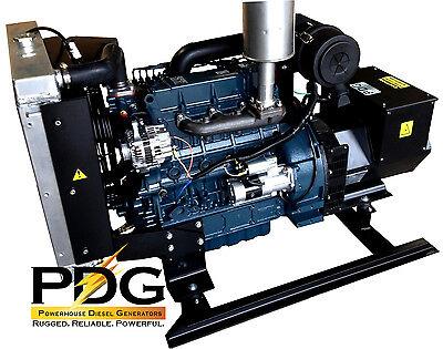 30 Kw Diesel Generator Kubota New