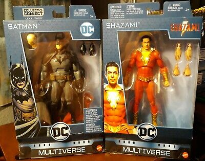 LOT OF DC FIGURE MULTIVERSE SHAZAM BATMAN GASLIGHT GOTHAM CITY BRUCE WAYNE