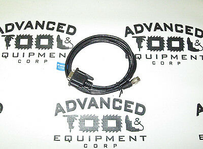 New Rs232 Replacement Data Transfer Cable 4 Topcon Gts Total Station 6 Pin-9 Pin