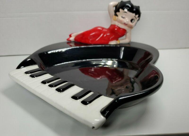 Betty Boop RARE Piano Ashtray