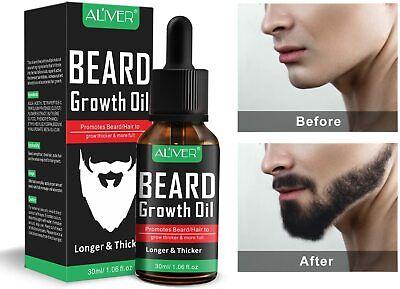 #1 Aceite Estimulante De Crecimiento Para Barba Y Bigote Mejor Que La Crema