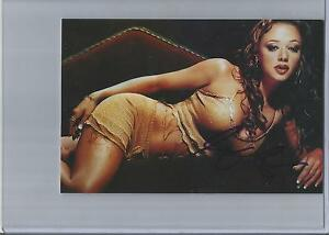 Leah-Remini-Signed-4x6-photo-Auto-King-of-Queens