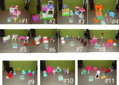 PICK ONE LOT ~ FISHER PRICE SWEET STREETS EXTRAS ~ FIGURES ~ FURNITURE ~ ADD ONS