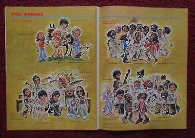 1979 Playboy All-Star Band ~ Steely Dan, Eric Clapton, Paul McCartney ART Page