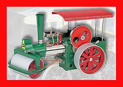 ⭐As N£W⭐️Vintage Wilesco D365 ⭐️Live Steam Roller Engine⭐️