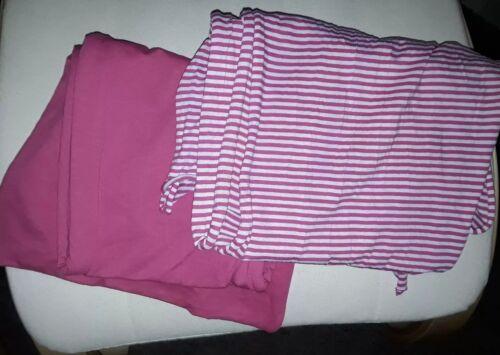 TCM Schal, pink-grau + pink, 180 cm, 2 Stück