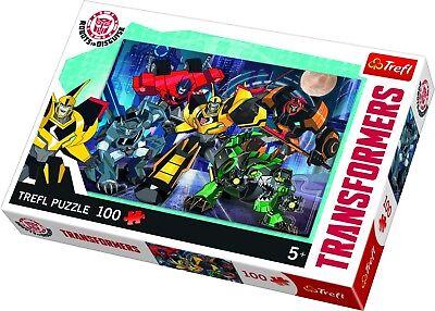 Trefl 100 Teile Kinder Groß Transformator Roboter in Verkleidung Puzzle Neu (Transformatoren In Verkleidung)