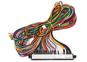 Jamma Harness: Replacement Parts | eBay on jamma 6 button wiring-diagram, universal wiring harness diagram, jamma arcade to usb diagram, sony stereo wire harness diagram, 7-way wiring harness diagram, simple turn signal diagram, a male power plug wire diagram, sony wiring harness diagram, 1979 bronco turn signal diagram, sony 52wx4 wire diagram,