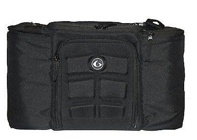 6 Pack Fitness Innovator 300 Black Stealth Fitness Bag