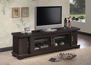 Extra Long TV Stand 70 Inch Base Cabinet LCD Console Credenza DVD Storage Unit