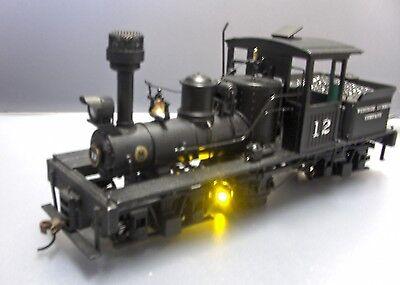 Bachmann On30 Shay locomotive brass boiler firebox flicker assembly NEW