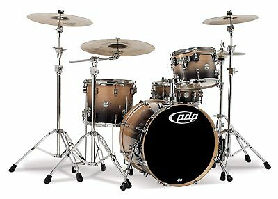 Pacific Drums PDCB2014NC 4-Piece Drumset with Chrome Hardware - Natural to... for sale  Valley