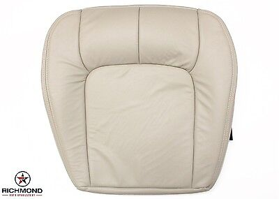 2003 Cadillac Seville SLS -Driver Side Bottom Replacement Leather Seat Cover Tan