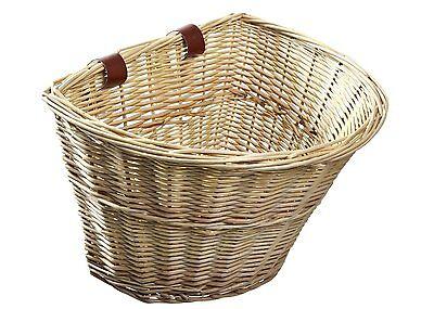 Nantucket Style Front Handlebar Wicker Bike Bicycle Basket Cargo Tool