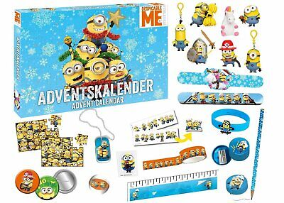Minions Minion Keychain Advent calendar mini figure stationery comes out paralle