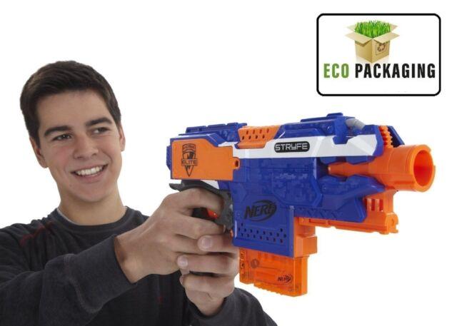NERF Gun N-Strike Elite Stryfe Blaster ( Gun IS Exactly AS SHOWN IN PICTURE