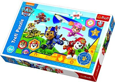 Trefl 160 Piece Kids Large PAW Patrol Crew Ready To Help Floor Jigsaw Puzzle NEW