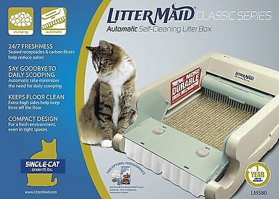 LitterMaid LM680C Automatic Self-Cleaning Classic Litter Box (LM680C), New