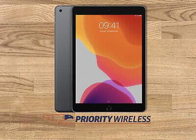 Apple iPad 7th Generation A2200 32GB Unlocked Tablet-Space Gray-Open Box