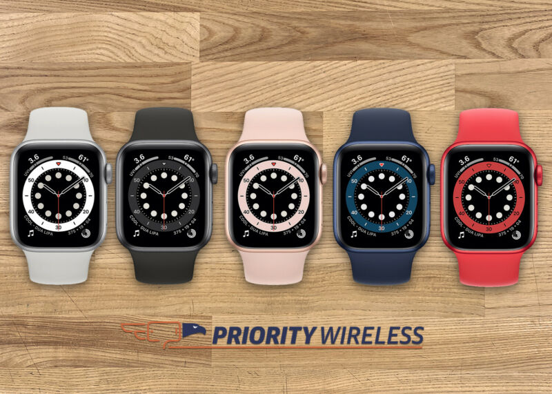 Apple Watch Series 6 40mm/44mm A2293 A2294 Cellular + GPS