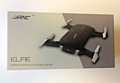 JJR/C H37Quadcopter Mini Selfie WiFi Camera RC Foldable Black Elfie Drone Age14+