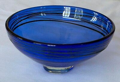Peet Robison :: Signed Glass Bowl from 2000
