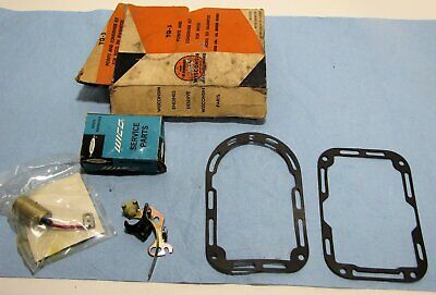 Vintage Wisconsin Engine Points And Condenser Set Wico Xh Magneto Yq5 Nos