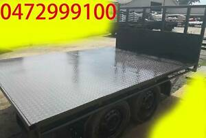 10x7 table top tandem trailer flattop flatbed aus made 14x8 16x8