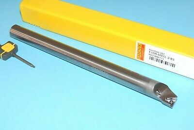 Sandvik E10r Stfcl 2-b1 Indexable Solid Carbide Boring Bar 58 Shank