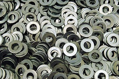 750 716 Sae Flat Washers - Zinc Plated