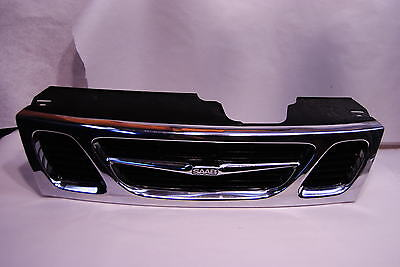 Used saab 9 5 grilles for sale page 4 genuine saab 9 5 grille grill assembly 1998 2001 aero se base 4677191 sciox Images