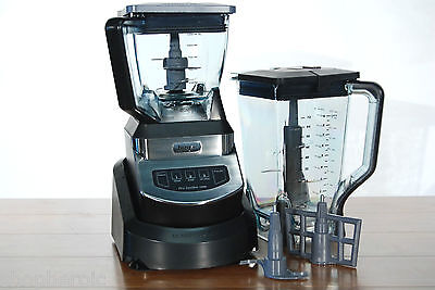 1100 WT NJ602 CO Juicer Processer Blender Dough Mixer Ninja Kitchen System  on Rummage