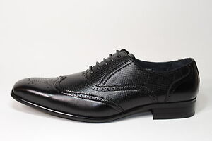 DELLI-ALDO-ITALIAN-STYLE-DRESS-SHOES-9122-BLACK-85-Men-s-Size