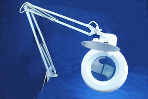 MAGNIFYING LAMP LIGHT 5 DIOPTER MAG DAYLIGHT BULB BEAUTY CRAFT HOBBY DENTAL NEW